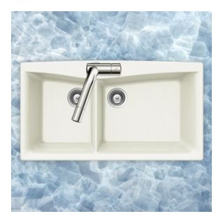 Houzer Arco Series Dual Mount 70/30 Double Bowl Sink   ARCO N 175