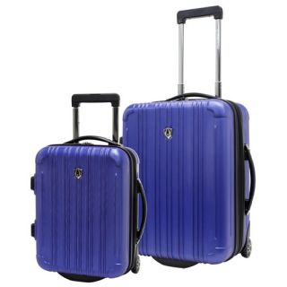 New Luxembourg 2 Piece Hardsided Carry On Luggage Set