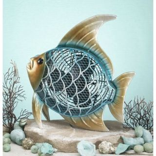 Deco Breeze Tropical Fish Figurine Table Top Fan