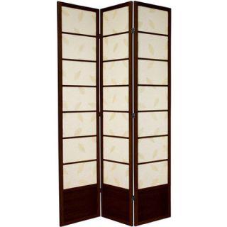 Oriental Furniture 84 Botanic Shoji Room Divider