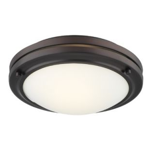 Philips Forecast Lighting West End Glass Flush Mount