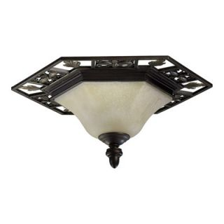 Quorum Marcela Flush Mount   3031 24 86