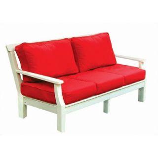 Seaside Casual Nantucket Deep Seating Sofa with Cushions