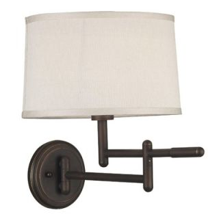 Kenroy Home Theta Swing Arm Wall Lamp in Copper Bronze