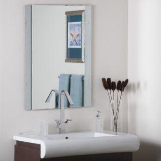Decor Wonderland Starlight Frameless Wall Mirror   SSM5039 111