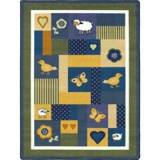 Joy Carpets Just for Kids Baby Love Bold Kids Rug