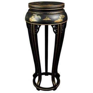 Oriental Furniture Pedestal Plant Stand   LCQ 59 BC