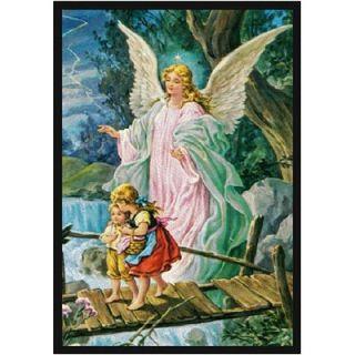 Joy Carpets Faith Based Guardian Angel Novelty Rug