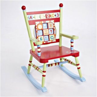 Levels of Discovery Alphabet Soup Kids Rocking Chair   LOD70000