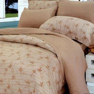 Le Vele Los Angeles Bamboo 6 Piece Full / Queen Duvet Cover Bedding