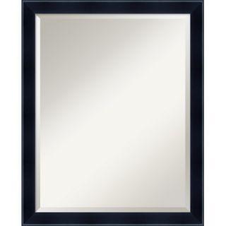 Amanti Art Madison Large Mirror in Satin Black   DSW01012