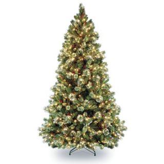 National Tree Co. Wintry Pine Pre Lit 7.5 Medium Tree   WP1 308 75