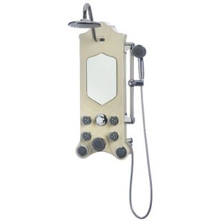 Jet Pro Shower Spas Imperial Thermostatic Shower Panel Spa   130