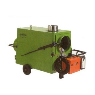 Patron Climat Series 570000 BTU Diesel Indirect Fired Heater in Green