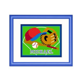Olive Kids Game On Personalized Baseball Print