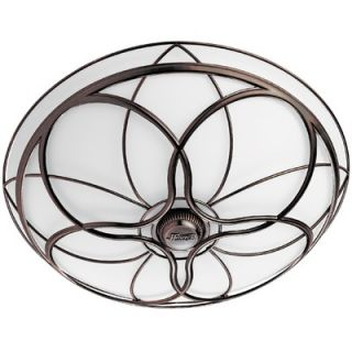 Bathroom Lighting Fixtures on Hunter Fans Orleans Bathroom Exhaust Fan In Light Imperial Bronze