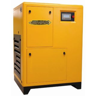 EMAX 125 HP 3PH Variable Speed Drive Rotary Screw Air Compressor