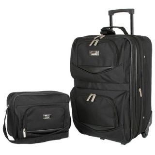 Geoffrey Beene Main Street 2 Piece Luggage Set