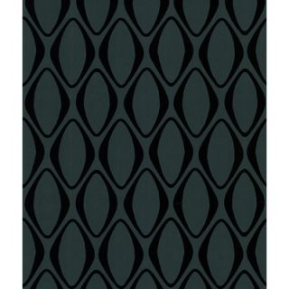 Brewster Home Fashions Echo Design Diamond Geometric Wallpaper in