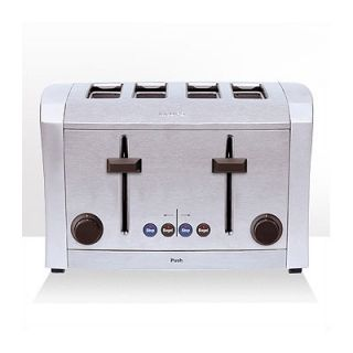 Krups 4 Slice Die Cast Metal Toaster