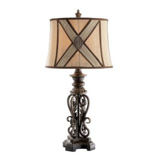 Stein World Antique Gold Metal Table Lamp (Set of 2)