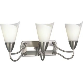 Progress Lighting Westend Brushed Nickel Wall Sconce   P3086 09