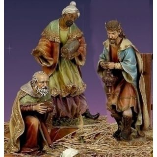 Roman 3 Kings Color Figurines Set