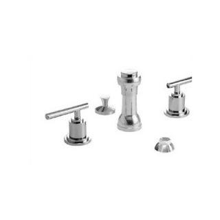 Jado New Haven Triple Handle Vertical Spray Bidet Faucet   826/144