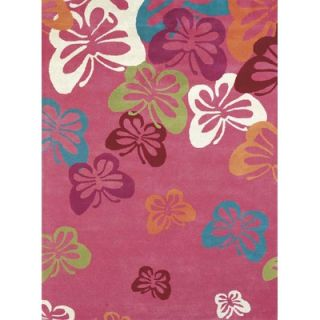 Dynamic Rugs Fantasia Fan Girls Light Pink Kids Rug   GB2814 311