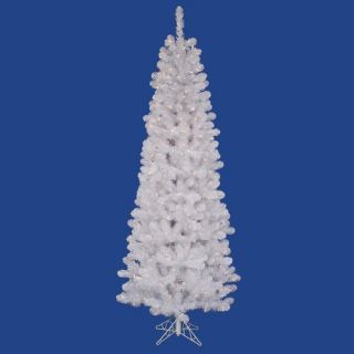 White Salem Pencil Pine 4.5 Artificial Christmas Tree with Clear L