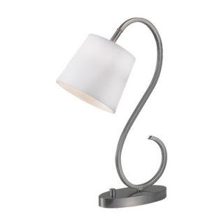 Kenroy Home Wilson One Light Desk Lamp   32009BS / 32009ORB