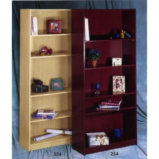 Nexera Wall Street Five Shelf Bookcase