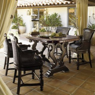 Tommy Bahama Home Tuscano 7 Piece Dining Set   Kingstown Sienna