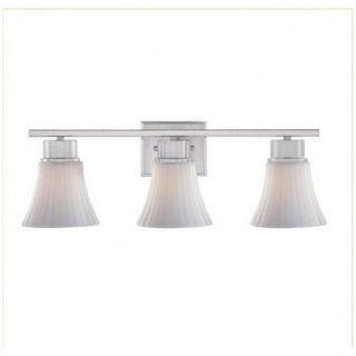 Dolan Designs Teton Three Light Bath Vanity in Satin Nickel   3983
