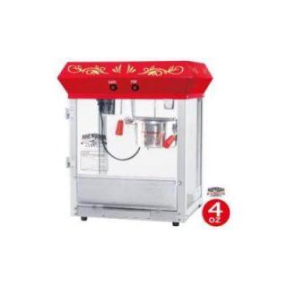 Great Northern Popcorn All Star 4 oz Popcorn Machine in Red