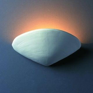 Justice Design Group Ambiance Clam Shell Wall Sconce   CER 3710