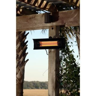 Fire Sense Wall Mounted Electric Patio Heater