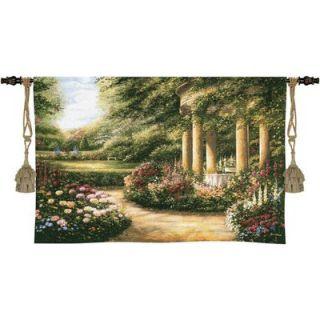 Fine Art Tapestries Westbury Gardens Wall Hanging