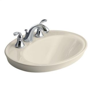 Kohler Serif Self Rimming Bathroom Sink for 8 Centers   K 2075 8