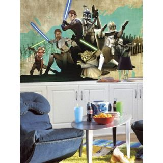 Room Mates XL Murals Star Wars The Clone Wars Wall Decal