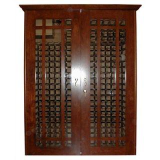 Vinotemp 700 Grid Oak Wine Cooler Cabinet   700 Grid