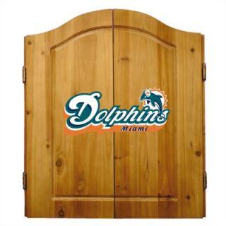 Imperial NFL Team Logo Complete Dart Cabinet Set   20 10   X