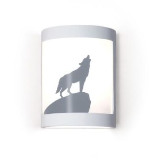 A19 Lone Wolf One Light Wall Sconce