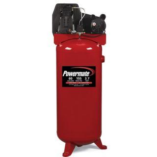 60 Gallon Cast Iron Oil Lubricated Belt Drive Air Compressor