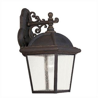 Sea Gull Lighting Charleston Large Gold Patina Wall Lantern   8844
