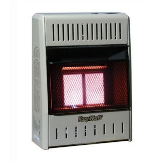 10,000 BTU Infrared Wall Space Heater with Thermostat