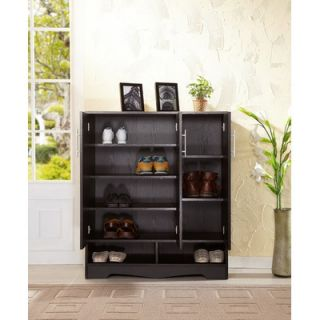Hokku Designs Sadie Modern 7 Shelf Shoe Cabinet   ZOK 345