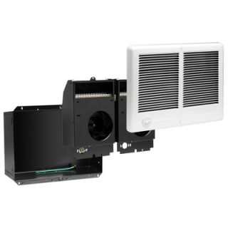 Cadet Com Pak Plus Twin 4000W Fan Forced Wall Heater in White