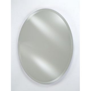 Radiance Oval Frameless Wall Mirror