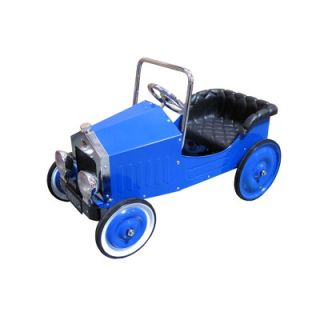 Dexton Voiture Classic Pedal Car in Blue   DX 20145